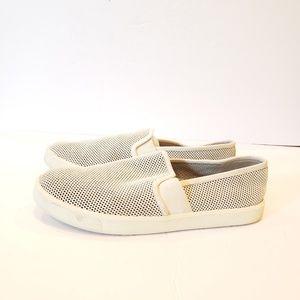 Vince. Preston slip on sneaker size 8.5 white